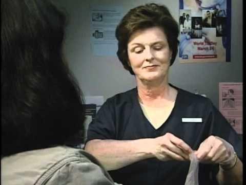 Mantoux TB Skin Test 1 - YouTube