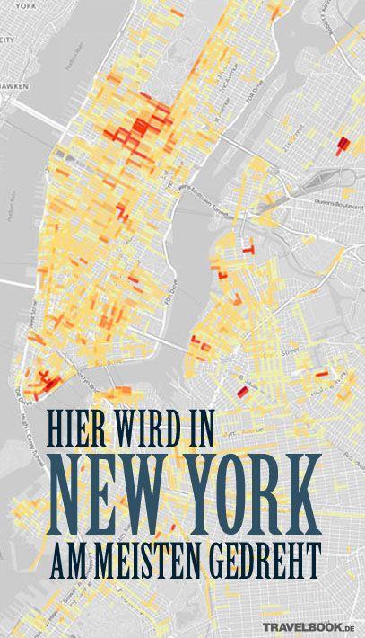 Eine interaktive Karte zeigt jetzt die Orte New Yorks, die derzeit bei Filmemachern besonders beliebt sind. Dafür wurden alle Filme, die zwischen 2011 und 2013 in New York gefilmt wurden, ausgewertet, und somit 517 Filme und 17.241 Drehorte. http://www.travelbook.de/welt/Neue-interaktive-Karte-verraet-Hier-wird-in-New-York-am-meisten-gefilmt-628118.html