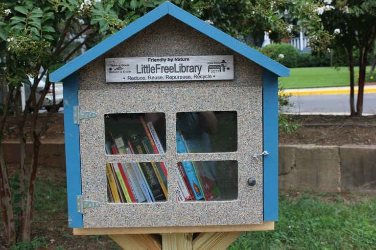 Hyattsville's newest library is so small you could walk right past it. The Little Free Library is located in the Robert J. King Memorial Park next to the Masonic Lodge on Gallatin Street. It&…