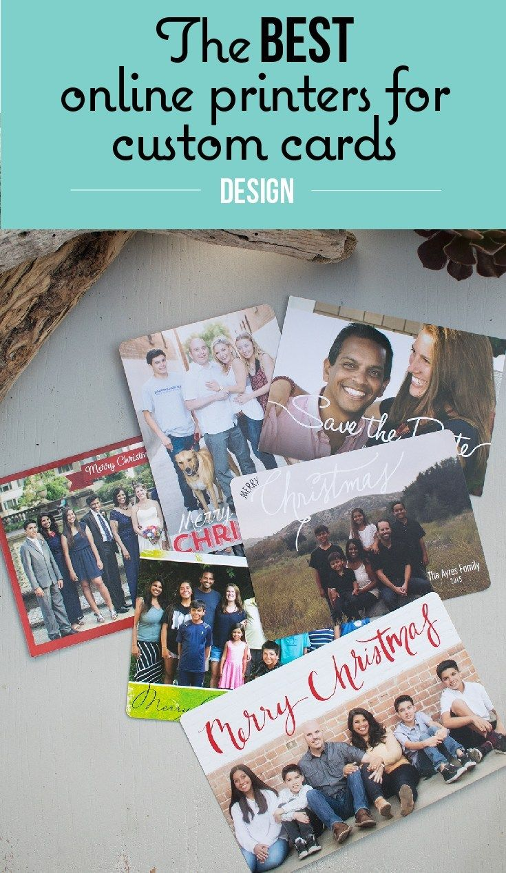 Best Sources For Printing Your Own Custom Invitations And Greeting Custom Cards Print Christmas Card Custom Invitations