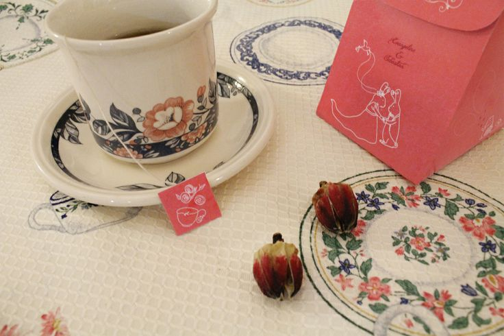 herbal tea packaging