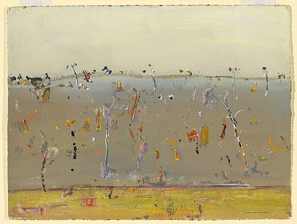 Fred WILLIAMS, (Landcape with termite mounds, Cape York Peninsula)