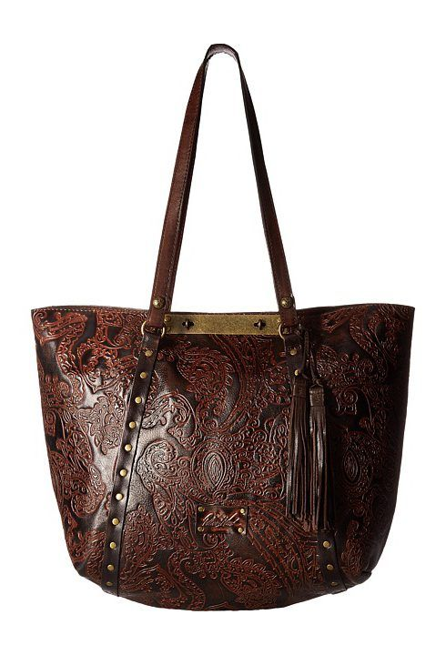 Patricia Nash Benvenuto Convertible Tote (Dark Brown) Tote Handbags - Patricia Nash, Benvenuto Convertible Tote, P28746-410, Bags and Luggage Handbag Tote, Tote, Handbag, Bags and Luggage, Gift, - Fashion Ideas To Inspire