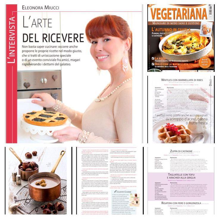 Sulla rivista Vegetariana intervista a Eleonora Miucci | Il Galateo di Madame Eleonora