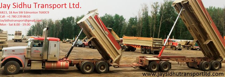 The Effective Edmonton Excavation Services: Jay Sidhu Transport Ltd. in Canada have been extending noteworthy services in the field of gravel excavation, aggregate haul drivers, equipment operators, etc. they have specialized vehicles which can carry the requirements to the construction sites.