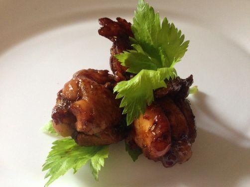 Alitas de pollo con salsa agridulce para #Mycook http://www.mycook.es/receta/alitas-de-pollo-con-salsa-agridulce-2/