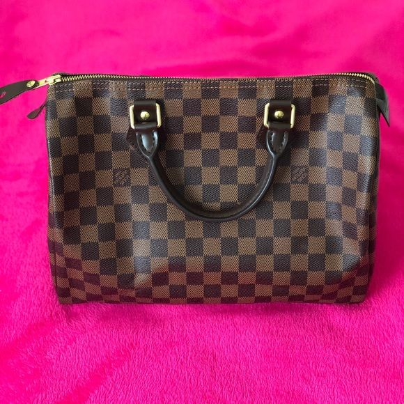 83efe702ac Louis Vuitton Speedy 30 Damier Ebene Authentic 💯 percent. Excellent  condition!!! Used