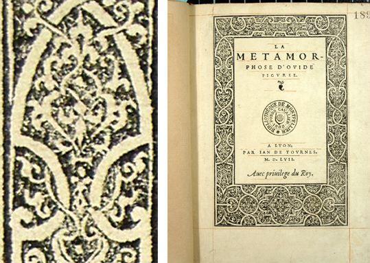 Page de titre (Métamorphose Lyon 1557)