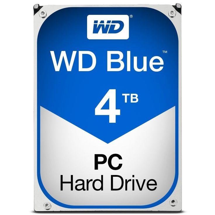 WD Blue 4TB Desktop Hard Disk Drive 5400 RPM SATA 6 Gb s 64MB Cache 3.5 Inch WD40EZRZ