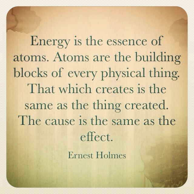 Ernest Holmes Eternally Golden Metaphysical quote