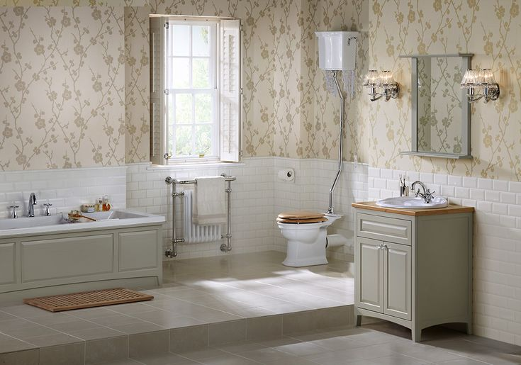 Featuring beautiful hand finished washstands and bathroom accessories, downton uses framing and pilasters for a bespoke look #downton #downtonclassical #bathroomfurniture #myutopia