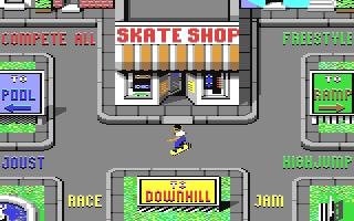 Skate or Die! - Commodore 64