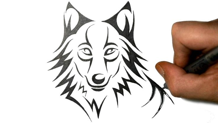 25+ best ideas about Wolf drawing easy on Pinterest | Dog ...