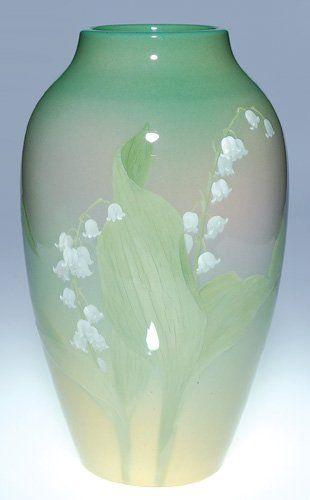Rookwood Pottery vase,1902 by Albert Valentien