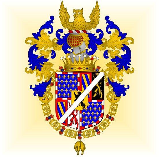 Armorial de l'Ordre de la Toison d'Or: Antoine le Grand Bâtard de Bourgogne