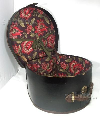Cappelliera da viaggio vintage in perfetto stato Bologna in vendita