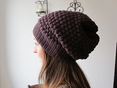 The Crafty Novice: DIY: Slouchy Urban Beanie
