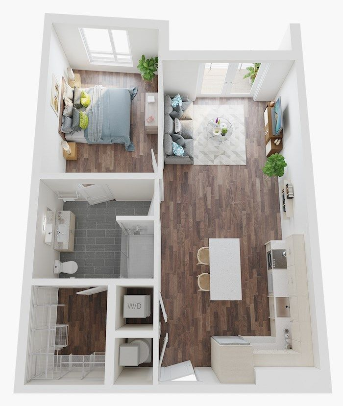 Micro Studio 1 2 3 Bedroom Apartments Lake Nona Pixon In 2020 Small Apartment Plans Small Apartment Floor Plans Small Apartment Layout