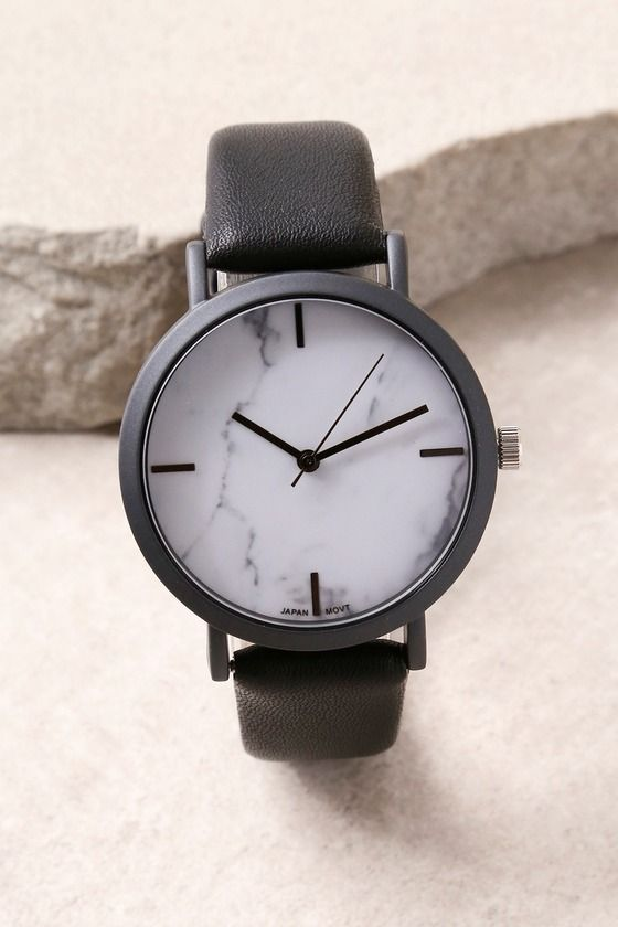 In The Present White Marble Watch 2