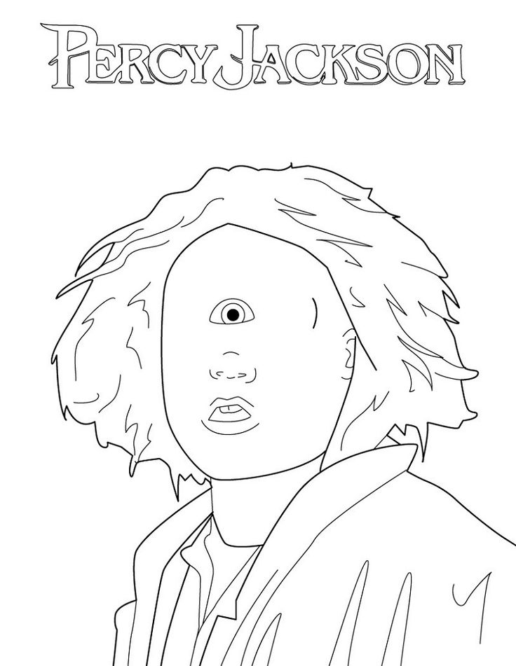 Percy Jackson Coloring Pages for Free Educative