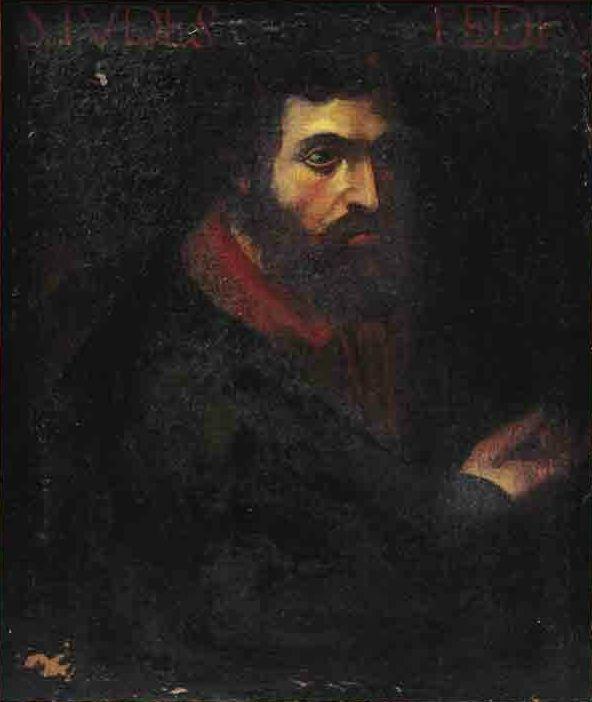 Испанская школа. 17 век. Апостол  Иуда. Холст, масло. 63.5 x 53.5 см