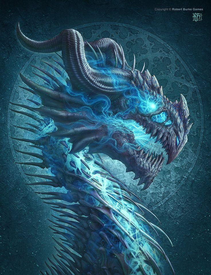 Undead Dragon by kerembeyit