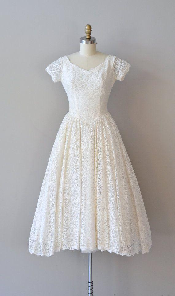 125 besten Original 50s Wedding Dresses Bilder auf Pinterest ...