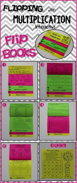 Multiplication Strategies Interactive Flip Books 2 S 10
