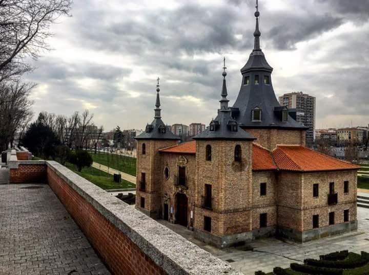 Ermita de la Virgen del Puerto, al lado del río Manzanares. Madrid.