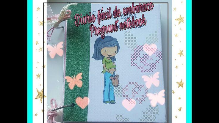 Diario fácil de embarazo /Pregnant Notebook