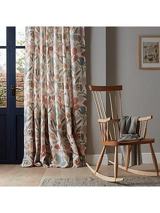 0323050f5c56 BuyCroft Collection Elise Pair Lined Pencil Pleat Curtains, Multi, W167 x  Drop 137cm Online at johnlewis.com