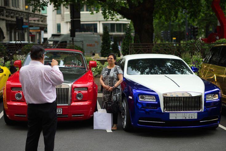 Egy szaúdi és egy kuvaiti Rolls-Royce. Fotó: Carl Court/Getty Images