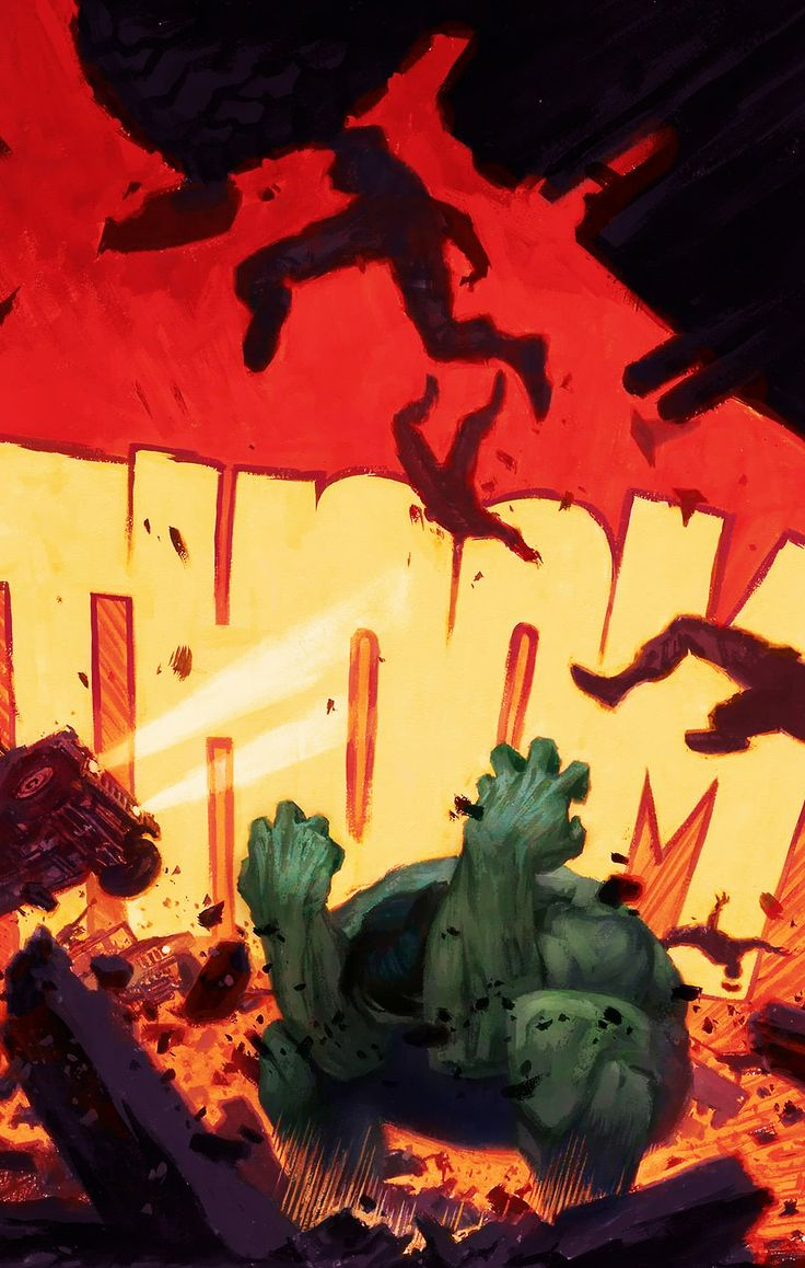 The Avengers Mythos - Hulk #1 -Written by Paul Jenkins, Art by Paolo Rivera