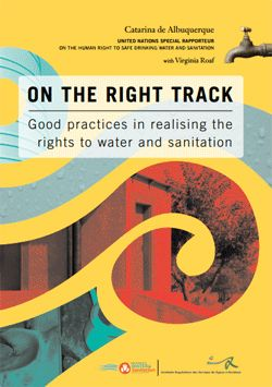 Publication 'On the right track. Good practices in realising the rights to water and sanitation'