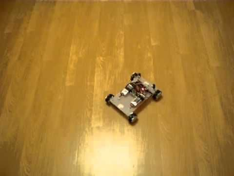 Mecanum wheel robot - bluetooth controlled