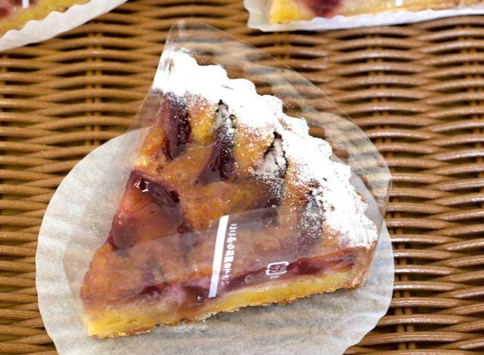 プラムのタルト宮崎のフランス菓子 CUMQUAT(コンクワート)Patisserie CUMQUATパティスリー コンクワート