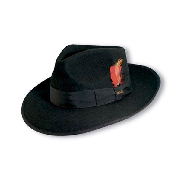 Scala Zoot Wool Fedora Hat Wardrobe Accessories Wool Fedora Hat Wool Fedora