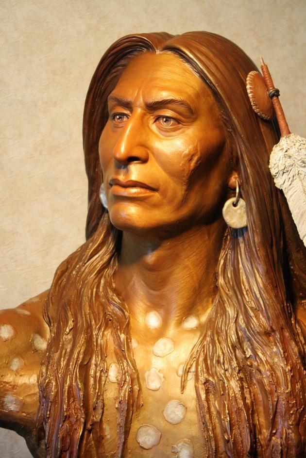 Tašúŋke Witkó / Crazy Horse by Sunti Pichetchaiyakul