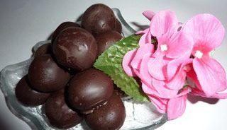 Chocolats aux cerises #recettesduqc #chocolat #dessert #paques