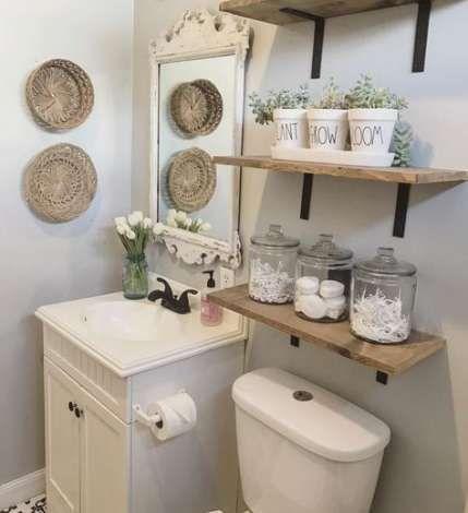 Diy Bathroom Shelves Above Toilet Mirror 56+ Super Ideas   – travel | diy. – #ba…   – Shelves recipes