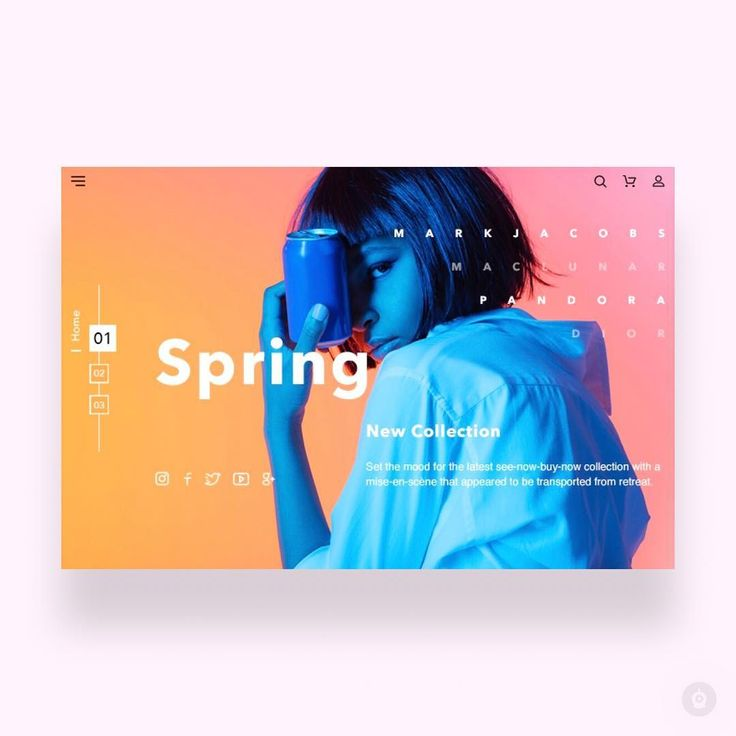 Spring shop by Julia —⠀ ✨ Daily Inspiration in your feed ✨⠀ —⠀  Get featured, tag your work with #designbot or follow along @design.bot