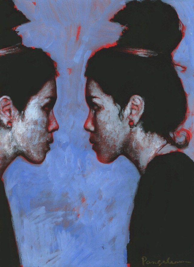 """Приобретайте картину на сайте www.d-mansion.ru Серия """"Три сестры"""", часть № 1 """"А-М"""" Жанр: иллюстрация, живопись Смешанная техника. Материалы: темпера, графитный карандаш. 2014 г."""