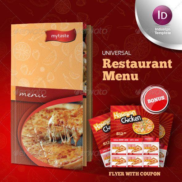 31 best InDesign images on Pinterest Flyer design, Page layout - sample pizza menu template