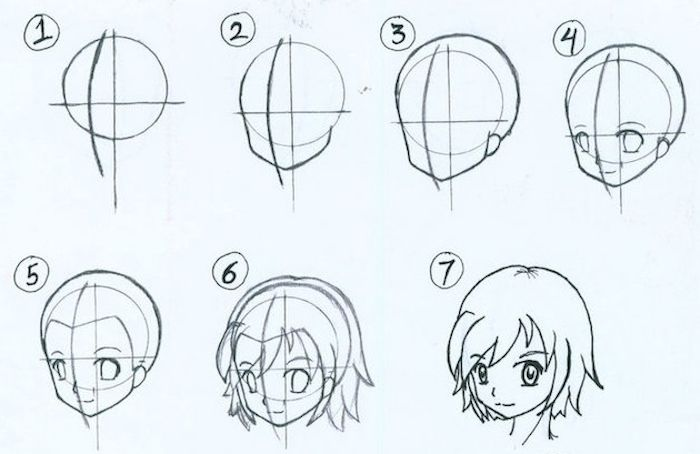 1001 Ideas How To Draw A Girl Tutorials And Pictures Cute