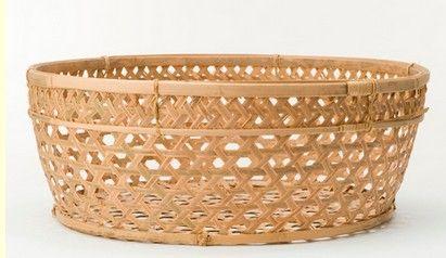 Bamboe mand - gevlochten