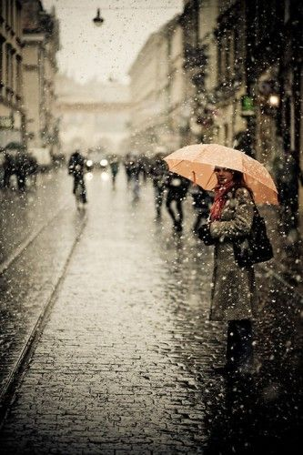 because I love a good rainy day.: Umbrellas, Rainy Day, Color, Funny Commercial, The Cities, Love Rain, Raindrop, Photo, Rain Drop