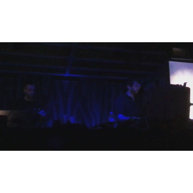 Oneohtrix Point Never & James Ferraro performed on Wednesday at Doug Fir Lounge