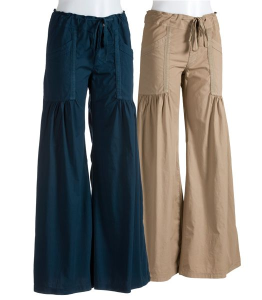 Willowy Wide Leg Pant By XCVI (Available in Seahorse, Smokey Clay, & Black)