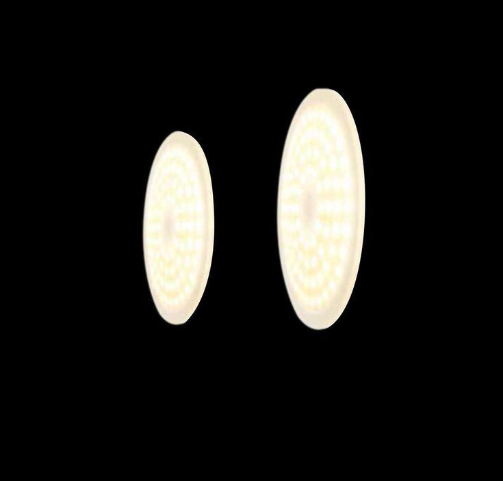 Weniger ist mehr: die Top Light Foxx Round Fit In Wand-/Deckenleuchte ist eine kräftig leuchtende Einbauleuchte, die dank modernster Hochvolt-LEDs mit extrem wenig Platz auskommt. Die Top Light Foxx Round Fit In Wand-/Deckenleuchte...