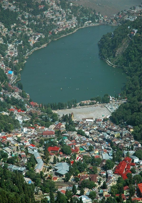 Nainital Hill Station, Lake District of Uttarakhand - Tourist In India So tempting, but a bit scary.